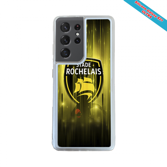 Coque silicone Iphone 11 Pro Max Fan de Rugby Pau Super héro
