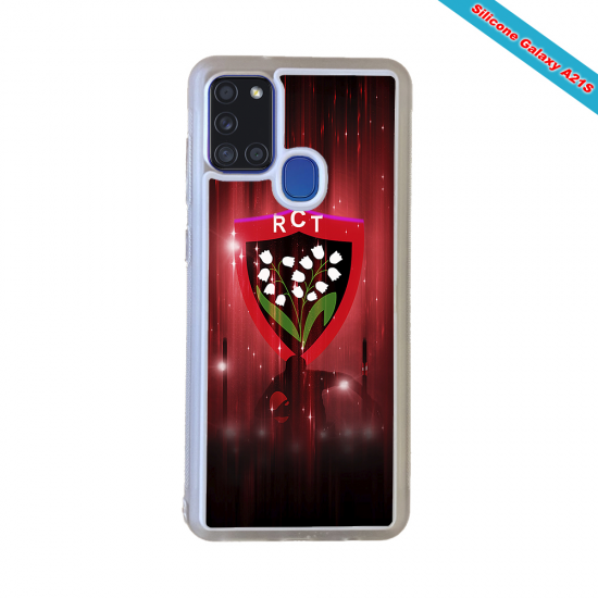 Coque Silicone Note 9 Fan de Rugby Pau Super héro