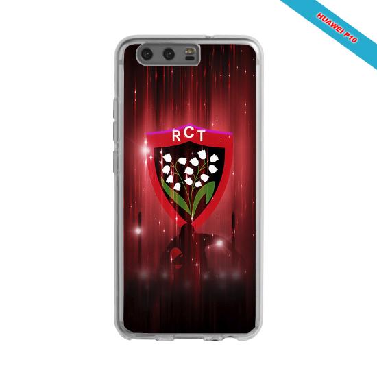 Coque silicone Galaxy J3 2016 Fan de Rugby Racing 92 Super héro