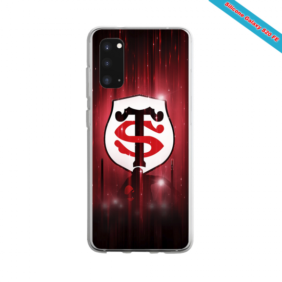 Coque silicone Iphone 11 Pro Max Fan de Rugby La Rochelle Super héro