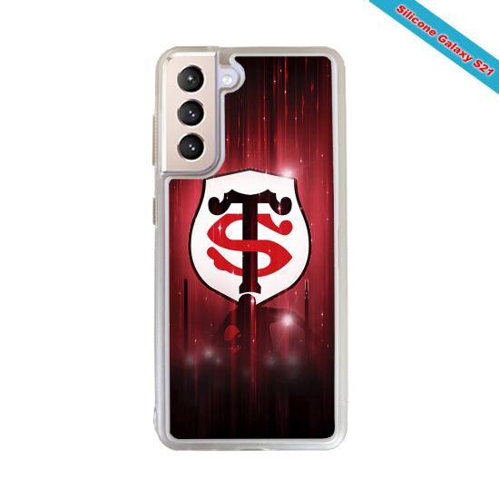 Coque silicone Iphone 12 PRO Fan de Rugby La Rochelle Super héro