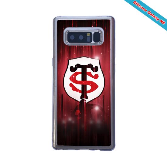 Coque silicone Galaxy A10S Fan de Rugby La Rochelle Super héro