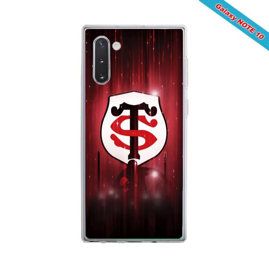 Coque silicone Galaxy A20E Fan de Rugby La Rochelle Super héro