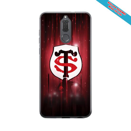 Coque silicone Galaxy A21S Fan de Rugby La Rochelle Super héro