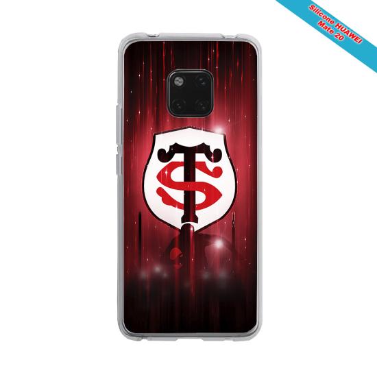 Coque silicone Galaxy A31 Fan de Rugby La Rochelle Super héro
