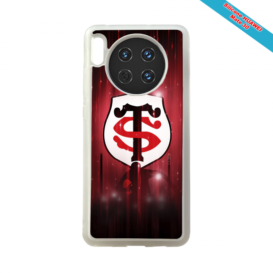 Coque silicone Galaxy A50 Fan de Rugby La Rochelle Super héro