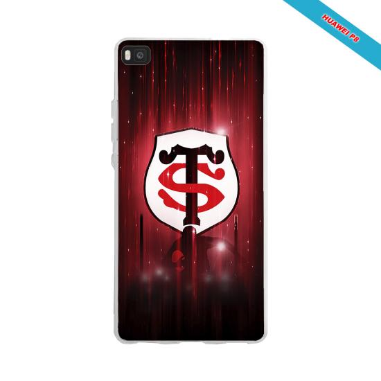 Coque silicone Galaxy A70 Fan de Rugby La Rochelle Super héro