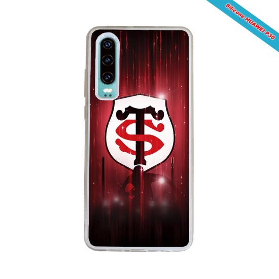 Coque silicone Galaxy J7 2016 Fan de Rugby La Rochelle Super héro