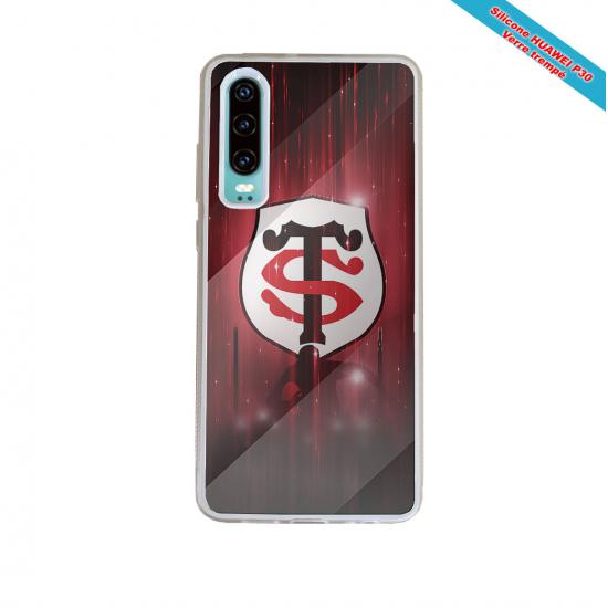 Coque silicone Galaxy J7 2017 Fan de Rugby La Rochelle Super héro