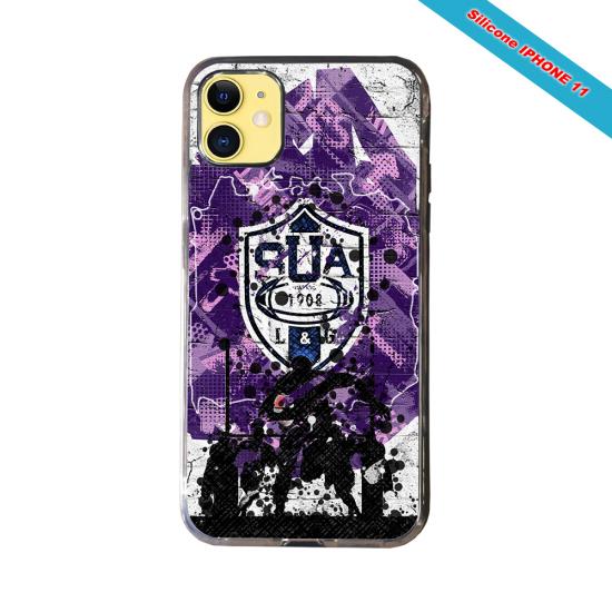 Coque silicone Galaxy S20FE Fan de Rugby La Rochelle Super héro