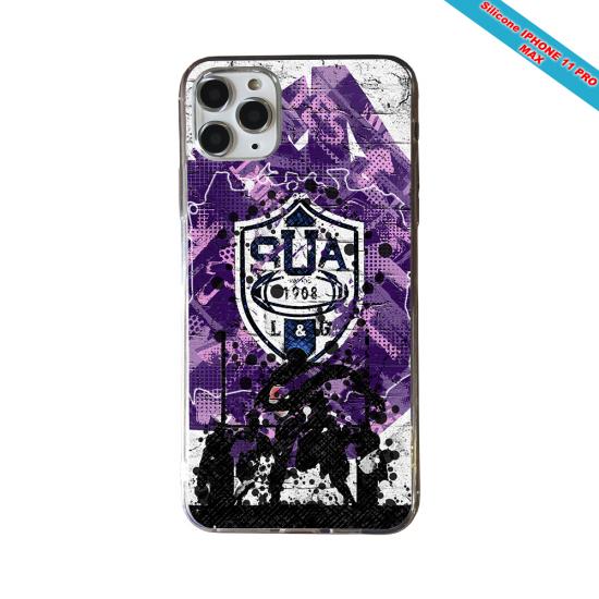 Coque Silicone Galaxy S20 ULTRA Fan de Rugby La Rochelle Super héro