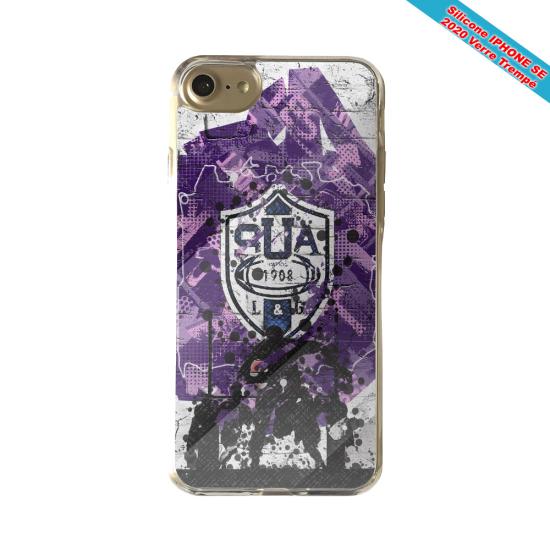 Coque silicone Galaxy S21 PLUS Fan de Rugby La Rochelle Super héro