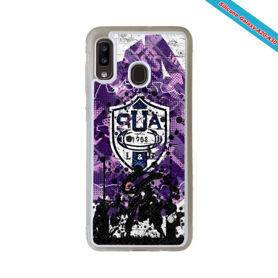 Coque silicone Huawei Mate 10 PRO Fan de Rugby La Rochelle Super héro
