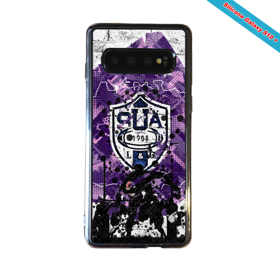 Coque silicone Iphone 11 Pro Max Fan de Rugby Toulon Super héro