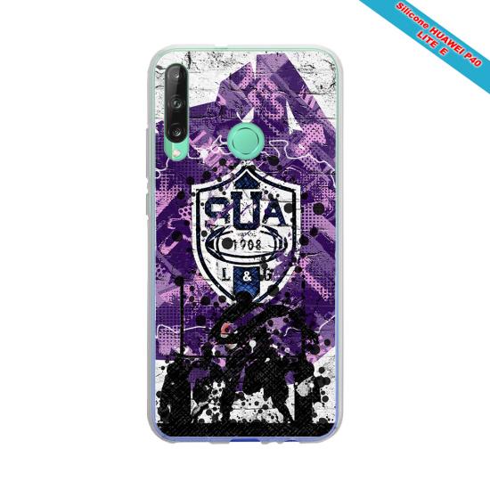 Coque Silicone Galaxy S6 Fan de Rugby Toulon Super héro