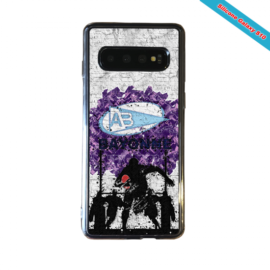 Coque silicone Iphone 11 Pro Max Fan de Rugby Toulouse Super héro
