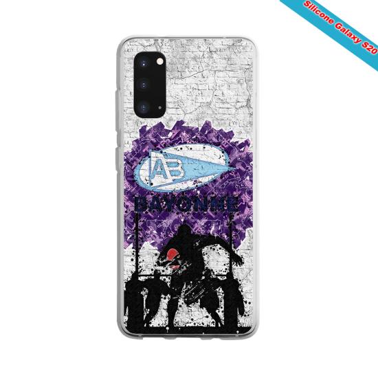 Coque silicone Iphone 12 PRO Fan de Rugby Toulouse Super héro
