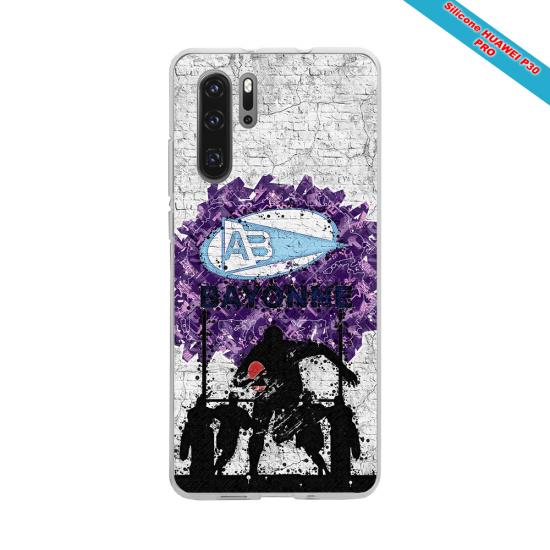 Coque Silicone Galaxy S6 EDGE Fan de Rugby Toulouse Super héro