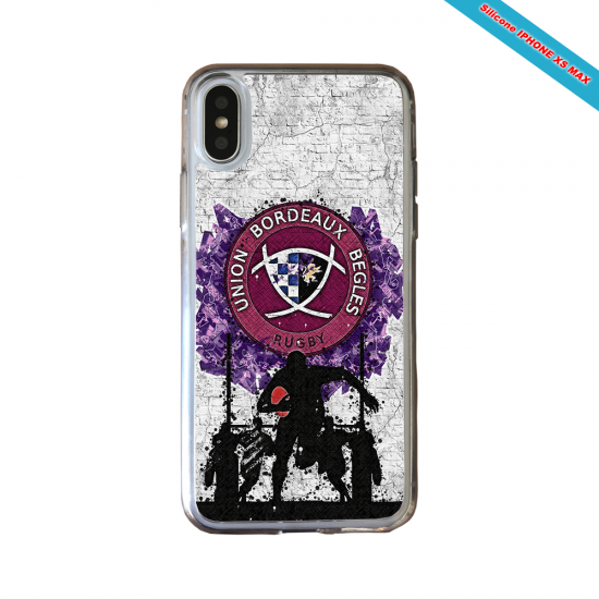 Coque Silicone Galaxy S20 ULTRA Fan de Rugby Toulouse Super héro