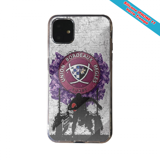 Coque Silicone Note 9 Fan de Rugby Toulouse Super héro