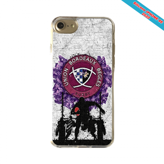 Coque silicone Huawei Mate 10 Fan de Rugby Toulouse Super héro