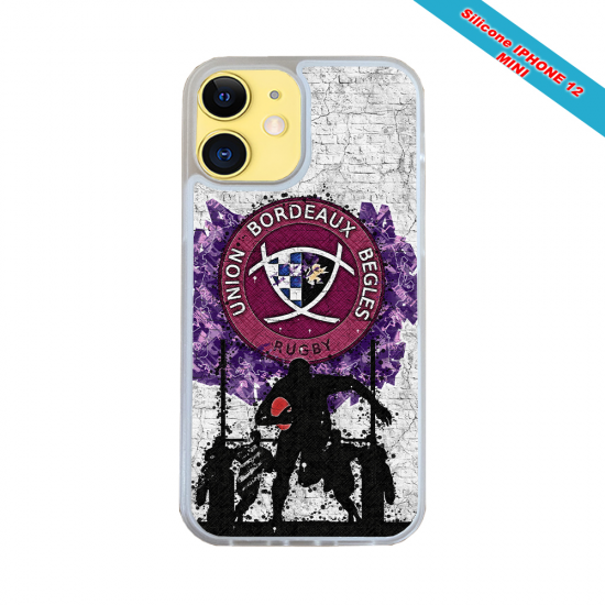 Coque silicone Huawei Mate 10 PRO Fan de Rugby Toulouse Super héro