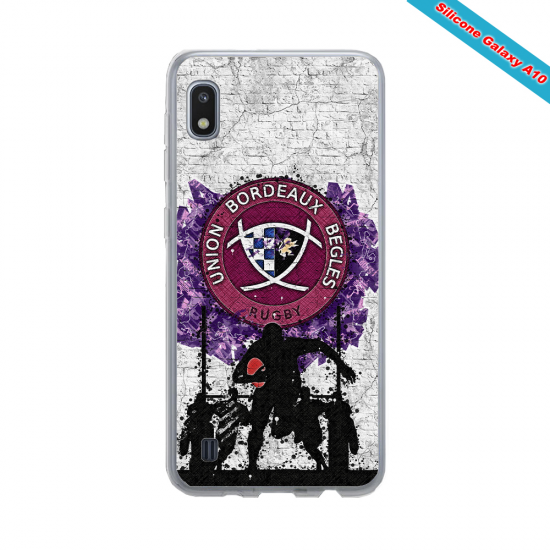 Coque silicone Huawei Mate 30 Fan de Rugby Toulouse Super héro