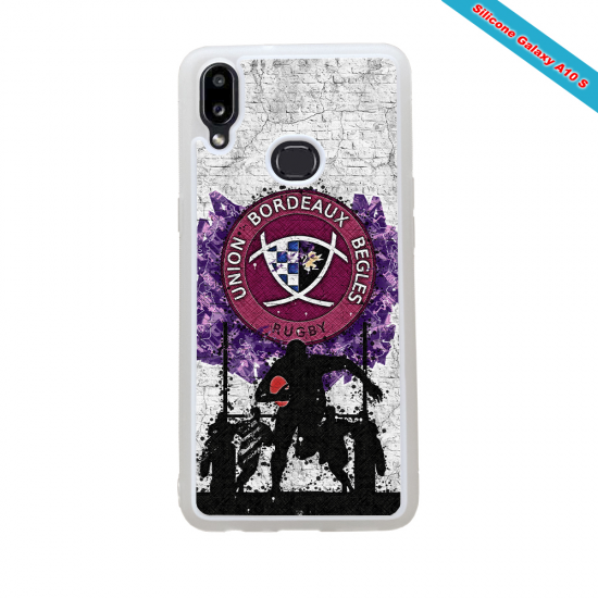 Coque silicone Huawei Mate 30 LITE Fan de Rugby Toulouse Super héro