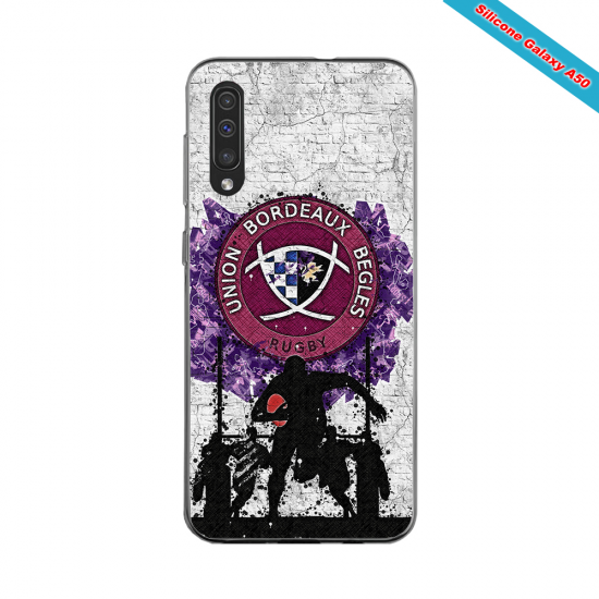 Coque silicone Huawei P20 Fan de Rugby Toulouse Super héro