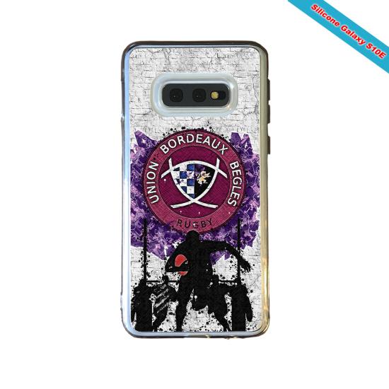 Coque silicone Iphone 12 PRO Fan de Rugby Agen Graffiti