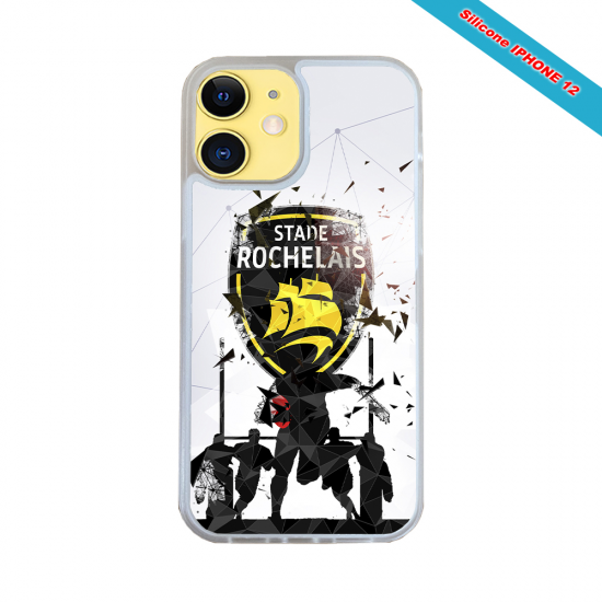 Coque silicone Iphone 11 Pro Max Fan de Rugby Bayonne Graffiti