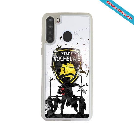 Coque silicone Galaxy A10 Fan de Rugby Bayonne Graffiti