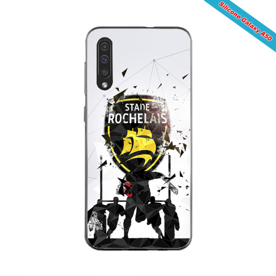 Coque silicone Galaxy A30S Fan de Rugby Bayonne Graffiti