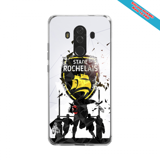 Coque Silicone Note 9 Fan de Rugby Bayonne Graffiti