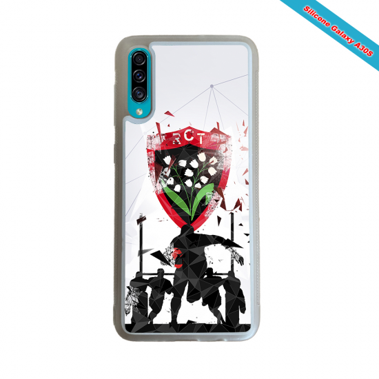 Coque silicone Galaxy A30S Fan de Rugby Bordeaux Graffiti