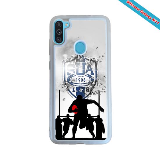 Coque Silicone Galaxy S7 EDGE Fan de Rugby Castres Graffiti
