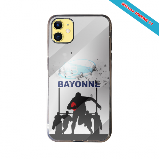 Coque silicone Galaxy A10 Fan de Rugby Clermont Graffiti