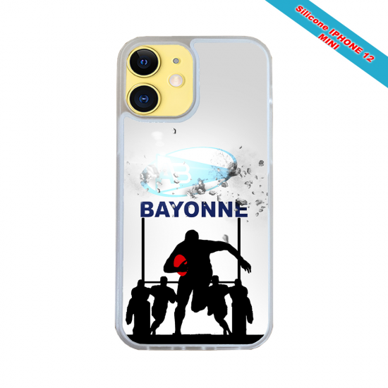 Coque silicone Galaxy A30S Fan de Rugby Clermont Graffiti