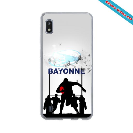Coque silicone Galaxy A50 Fan de Rugby Clermont Graffiti