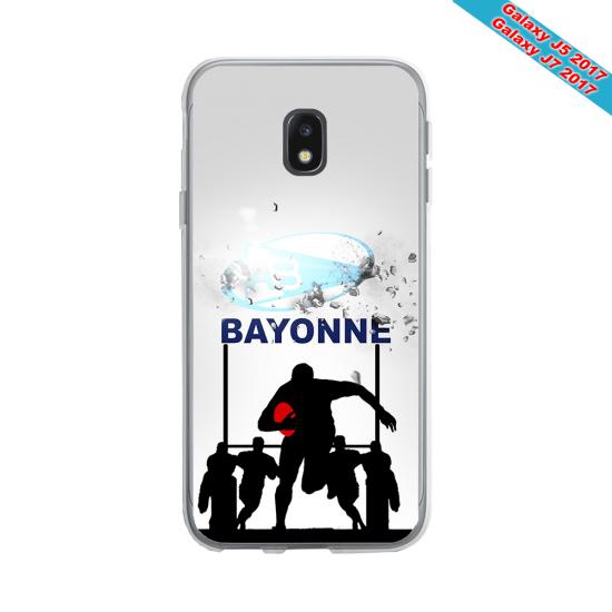 Coque Silicone Galaxy S7 EDGE Fan de Rugby Clermont Graffiti