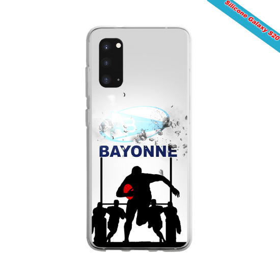 Coque Silicone Note 9 Fan de Rugby Clermont Graffiti