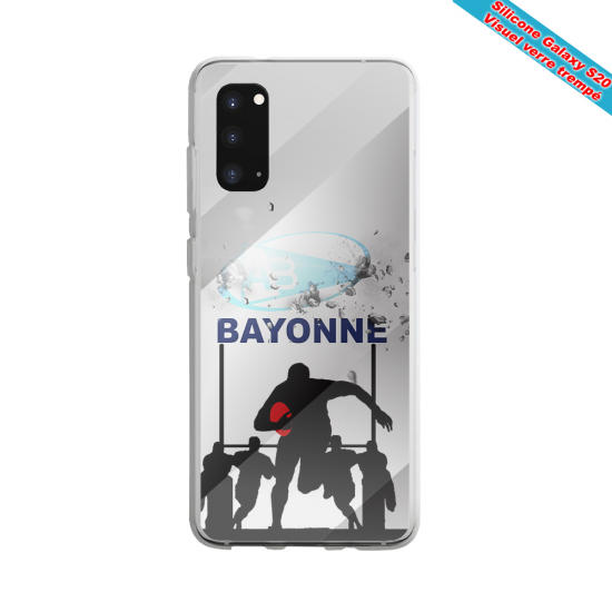 Coque silicone Huawei Mate 10 Fan de Rugby Clermont Graffiti