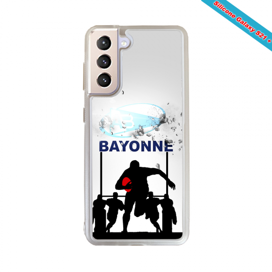Coque silicone Huawei Mate 20 PRO Fan de Rugby Clermont Graffiti