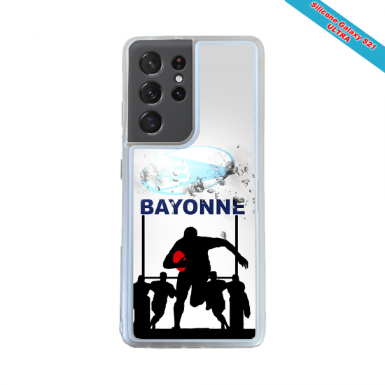 Coque silicone Huawei Mate 30 Fan de Rugby Clermont Graffiti