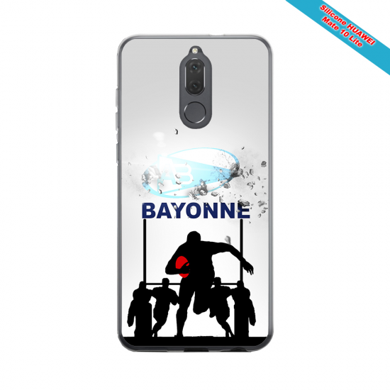 Coque silicone Huawei P9 Fan de Rugby Clermont Graffiti