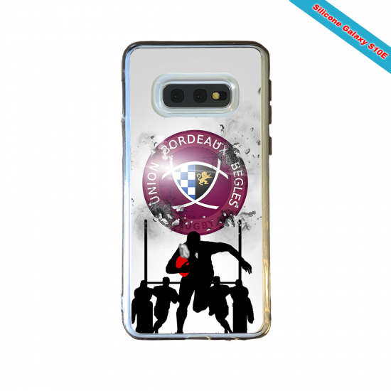 Coque Silicone Note 9 Fan de Rugby Lyon Graffiti