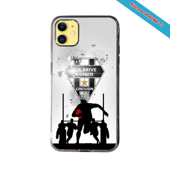 Coque silicone Galaxy A30S Fan de Rugby Montpellier Graffiti