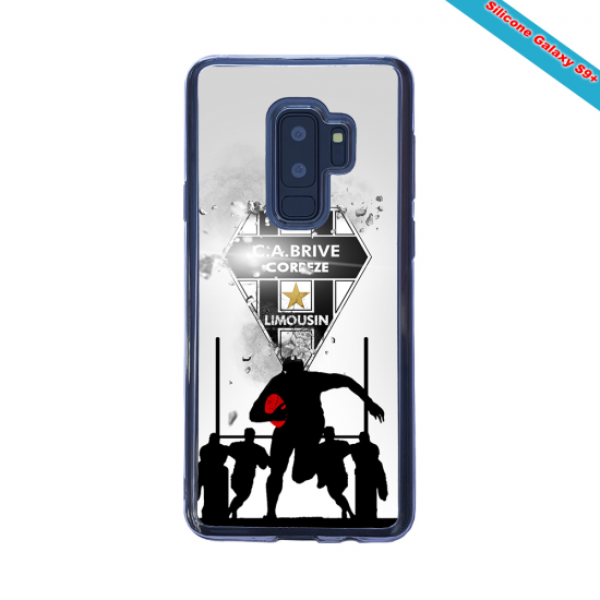 Coque Silicone Note 9 Fan de Rugby Montpellier Graffiti