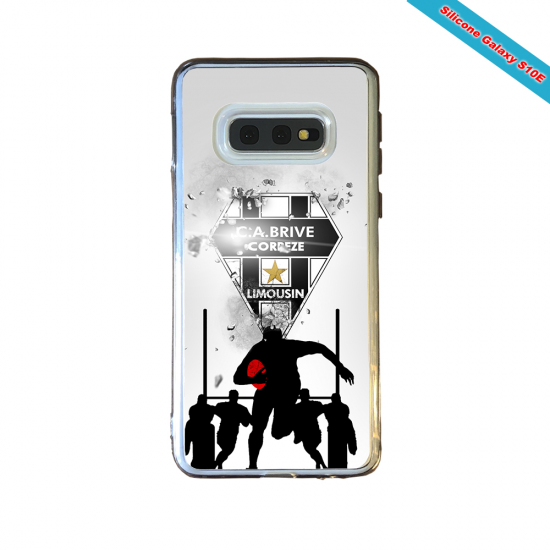 Coque silicone Huawei Mate 10 PRO Fan de Rugby Montpellier Graffiti