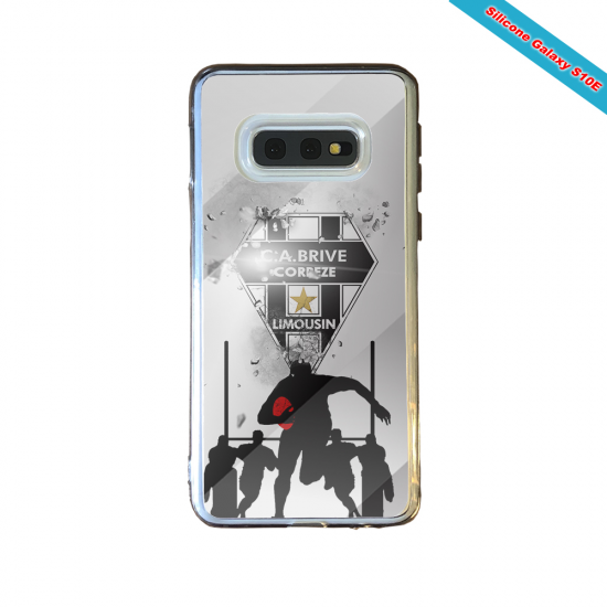 Coque silicone Huawei Mate 20 Fan de Rugby Montpellier Graffiti